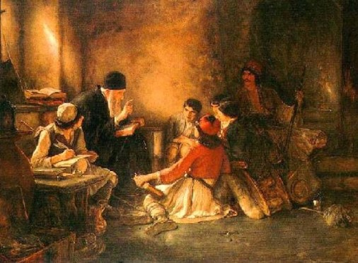 Secret_School_(Krifo_Sxolio),_where_the_Hellenic-Orthodox_spirit_remains_alive_-_oil_painting_on_canvas