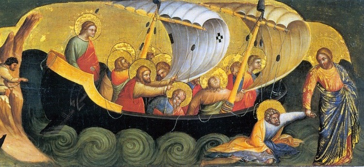 Umblarea-pe-mare-Lorenzo_Veneziano-Christ_Rescuing_Peter_from_Drowning_1370_Staatliche_Museen-Berlin-UP